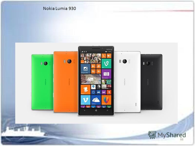 66 Nokia Lumia 930