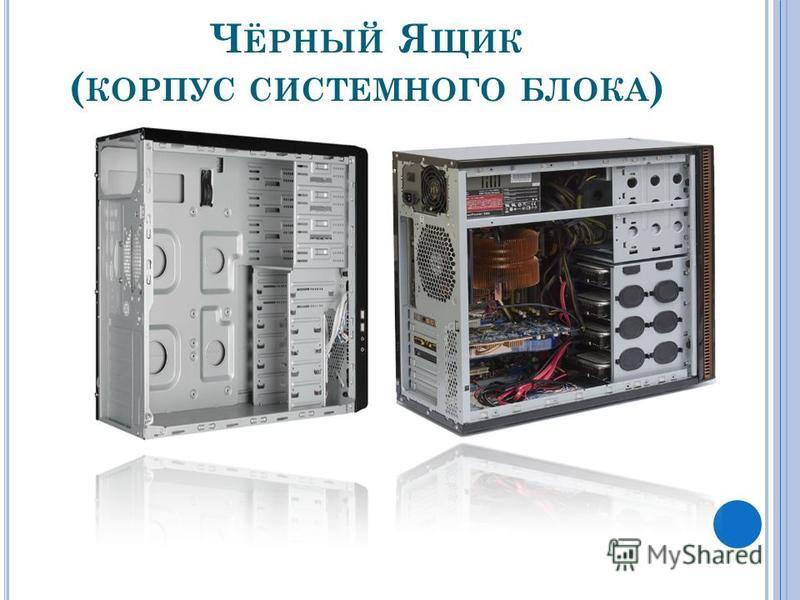 Ч ЁРНЫЙ Я ЩИК ( КОРПУС СИСТЕМНОГО БЛОКА )
