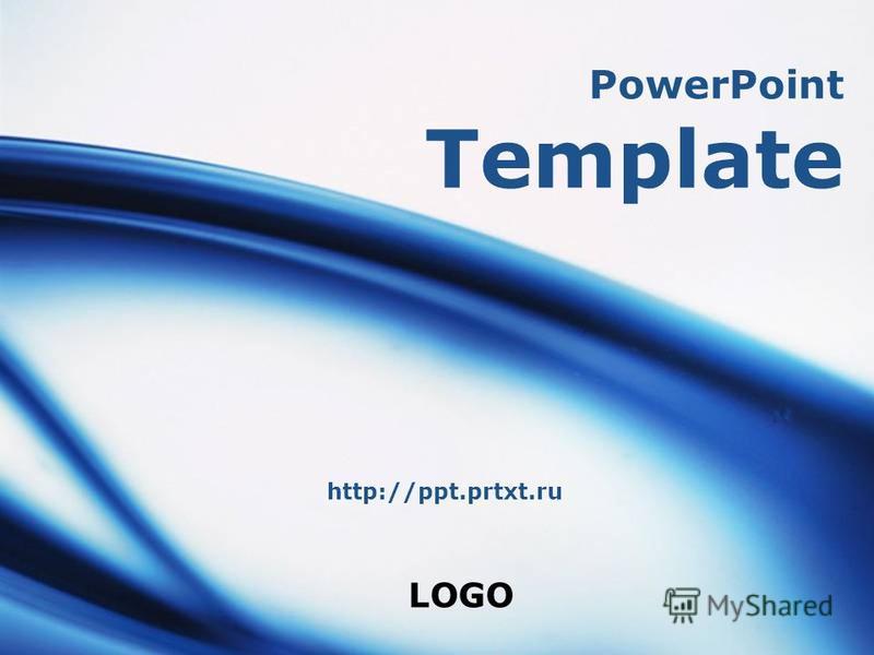 LOGO PowerPoint Template http://ppt.prtxt.ru