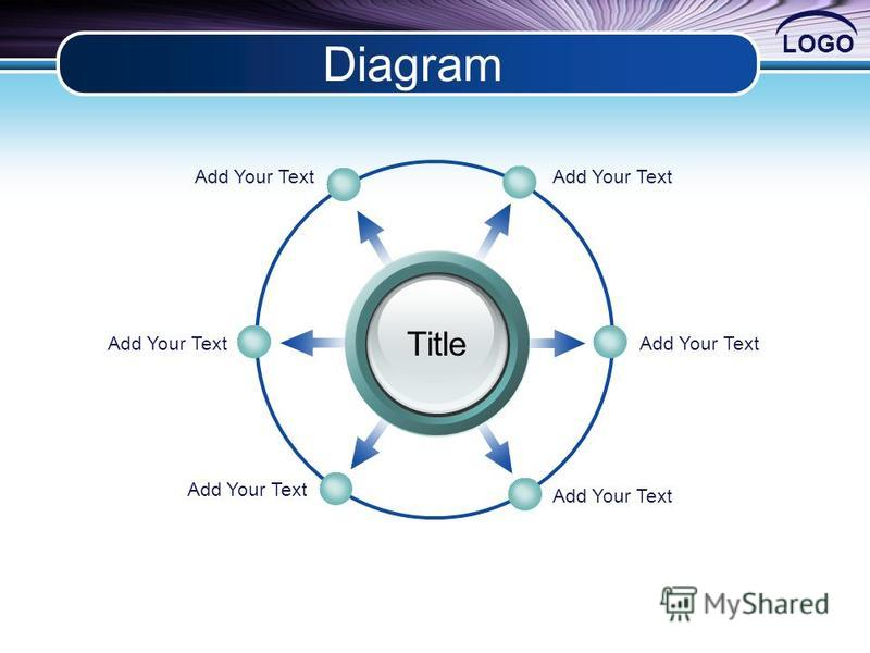 LOGO Diagram Title Add Your Text