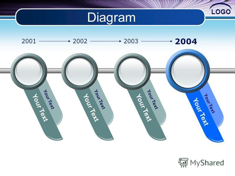 LOGO Diagram Your Text 200120022003 2004