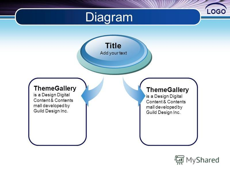 LOGO Diagram ThemeGallery is a Design Digital Content & Contents mall developed by Guild Design Inc. Title Add your text ThemeGallery is a Design Digital Content & Contents mall developed by Guild Design Inc.