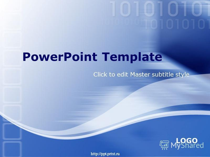 LOGO http://ppt.prtxt.ru Click to edit Master subtitle style PowerPoint Template