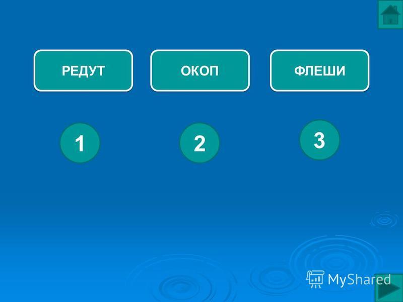 РЕДУТ ФЛЕШИ ОКОП 12 3