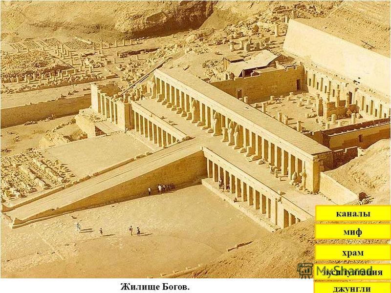 Жилище Богов. джунгли эксплуатация храм миф каналы
