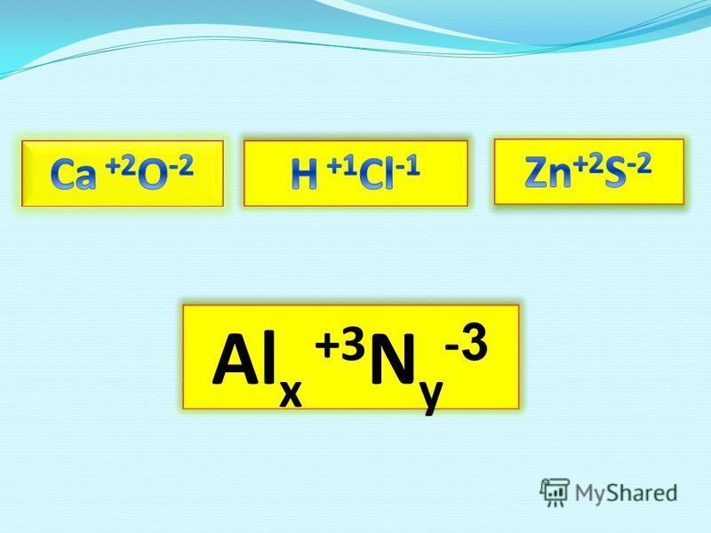 Al x +3 N y - 3