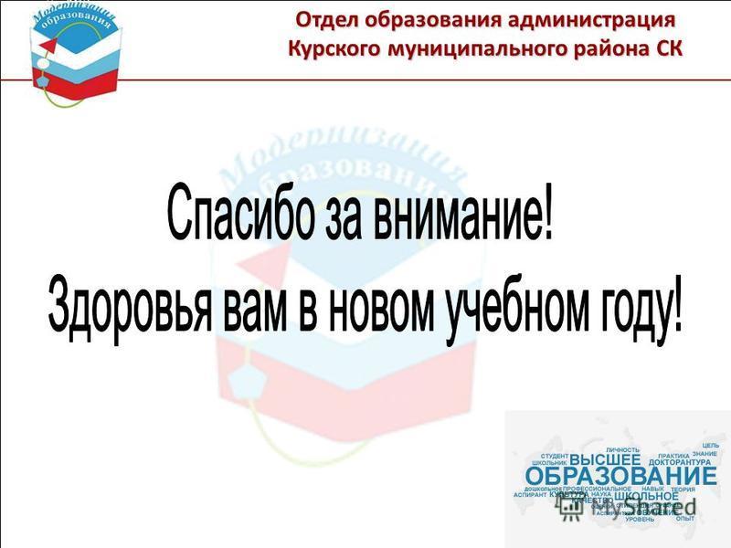 Отдел образования администрация Курского муниципального района СК