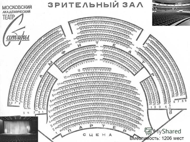Вместимость: 1206 мест