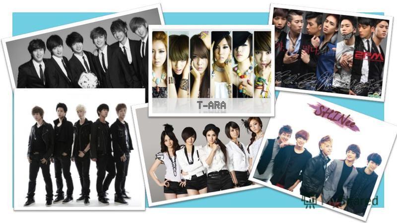 Хотя в самой Корее, под термином K-pop могут пониматься почти любые направления корейской поп-музыки, за пределами страны же, под кей-попом понимается исключительно музыка, исполняемая так называемыми идолами. Состоят они преимущественно из нескольки