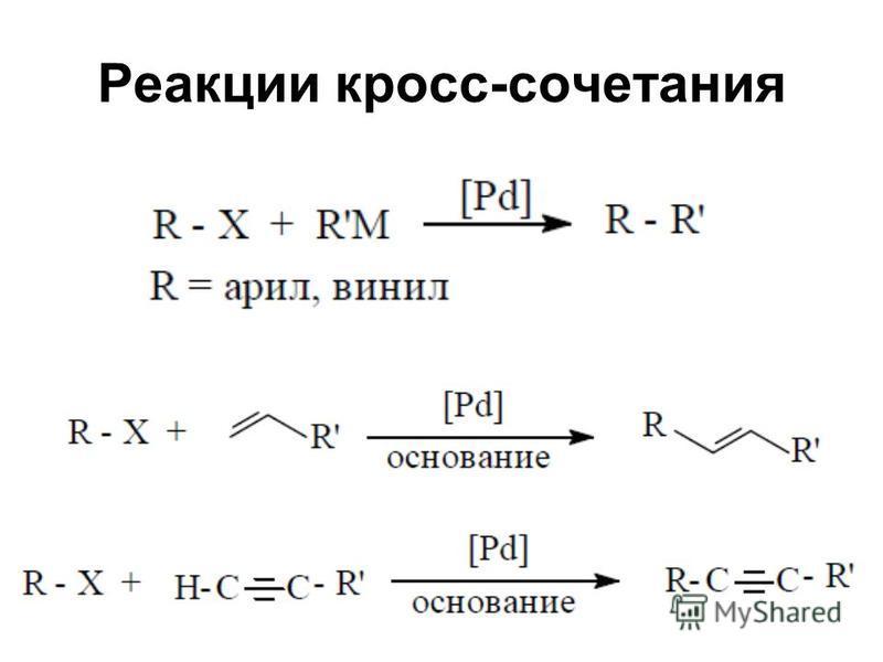 Реакции кросс-сочетания