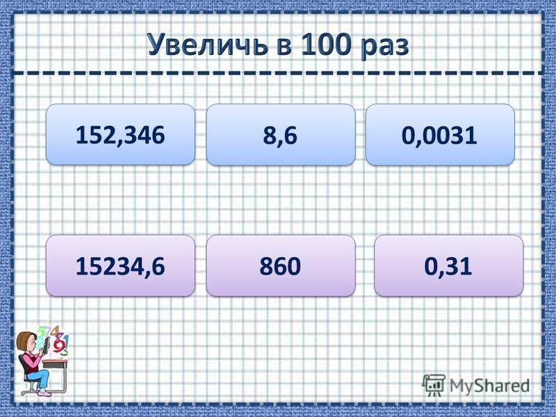 152,346 8,6 0,0031 15234,6 860 0,31