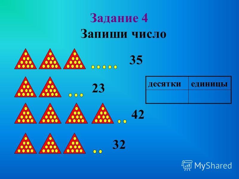 РАЗРЯДНЫЙ СОСТАВ Любое двузначное число состоит из единиц и десятков. 54 45 32 23