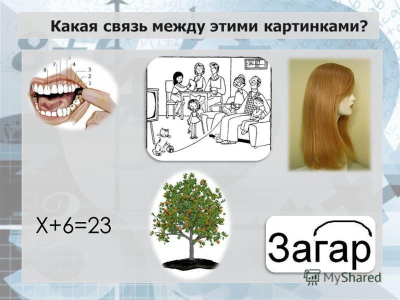 Х+6=23