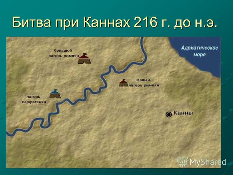 Битва при Каннах 216 г. до н.э.