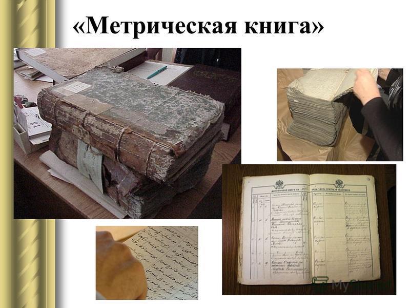«Метрическая книга»
