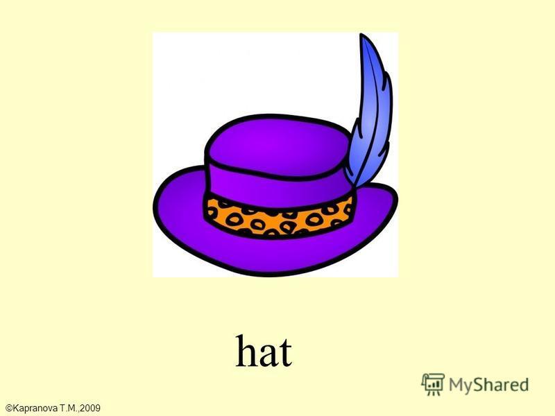 hat ©Kapranova T.M.,2009