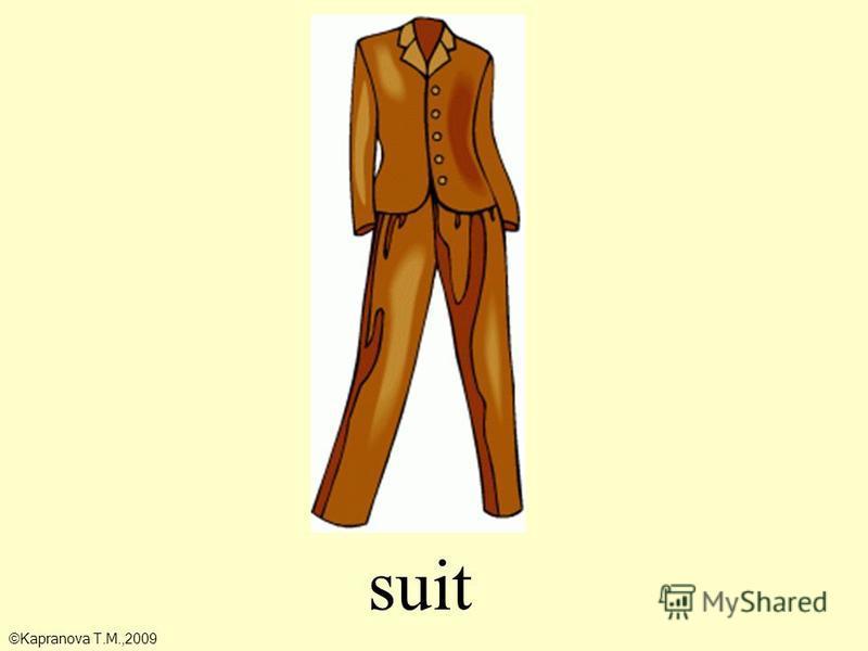 suit ©Kapranova T.M.,2009
