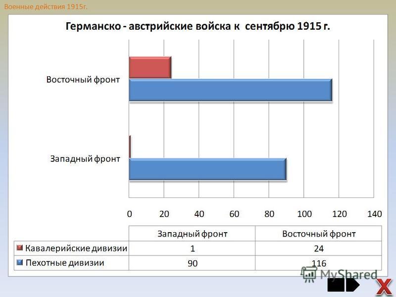 Военные действия 1915 г.