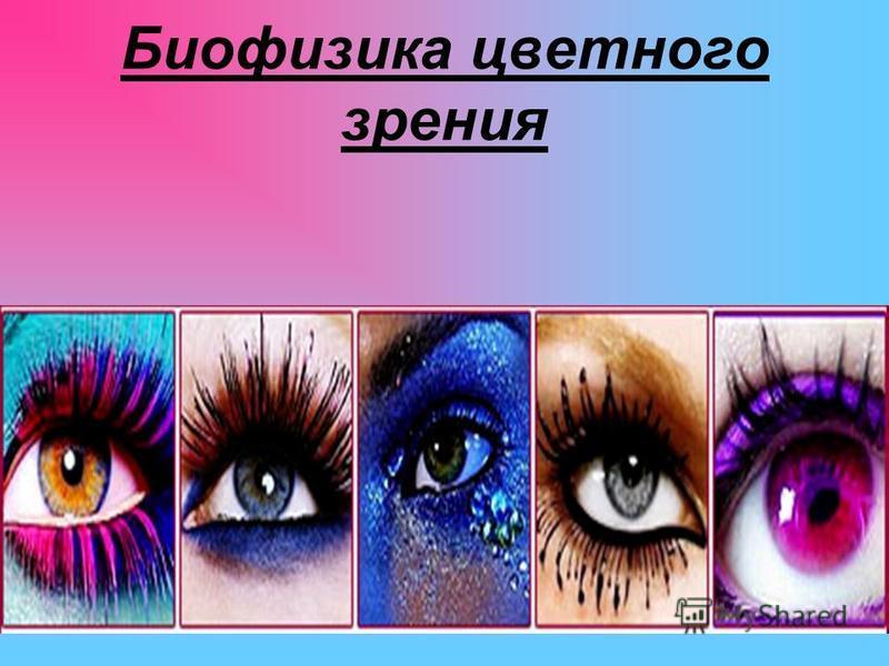 Биофизика цветного зрения