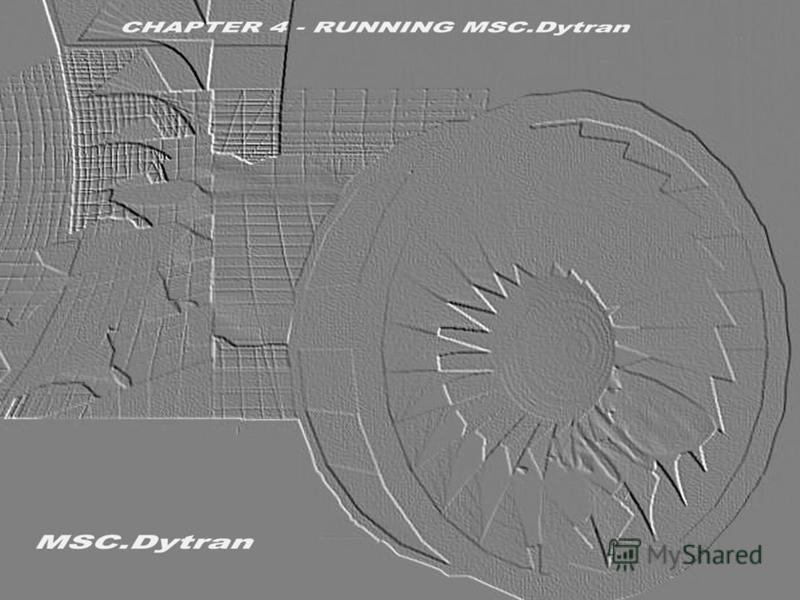 Стр. 1 Часть 4 - Выполнение расчёта с помощью MSC.Dytran Введение в использование метода Лагранжа MSC.Dytran Seminar Notes