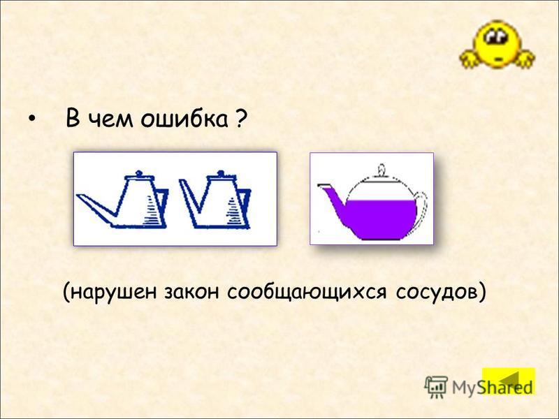 Три тела одинакового объёма погружены в три различные жидкости. Первая – масло, вторая – вода, третья – раствор соли в воде. На какое тело действует меньшая архимедова сила? (1, т.к. плотность масла наименьшая) 123