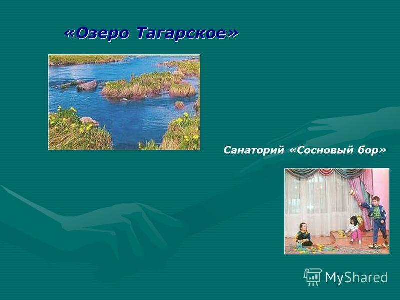 «Озеро Тагарское» Санаторий «Сосновый бор»