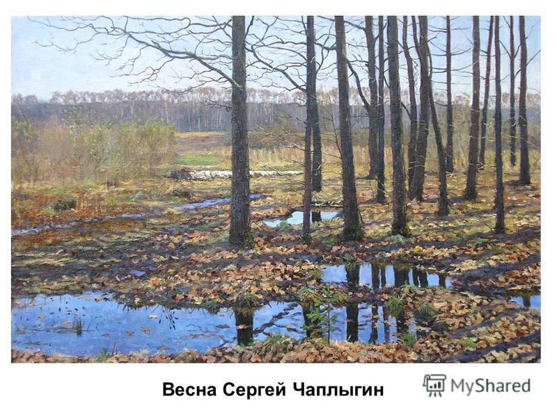 Весна Сергей Чаплыгин