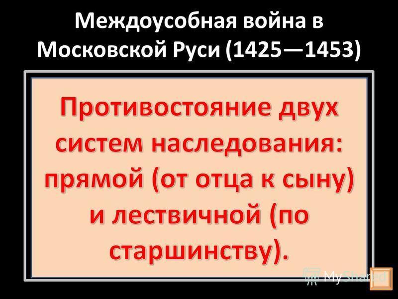 Междоусобная война в Московской Руси (14251453)