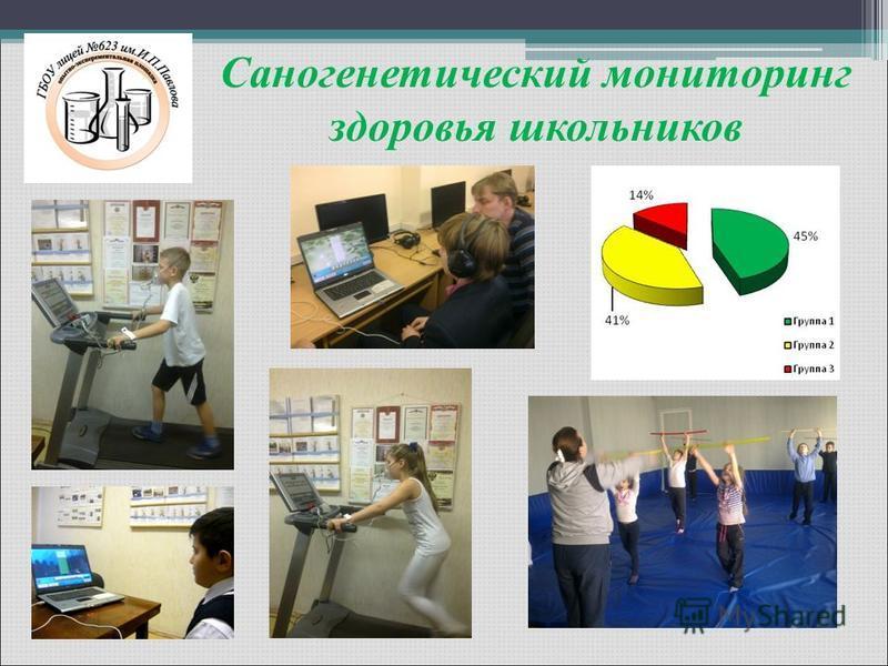 Саногенетический мониторинг здоровья школьников