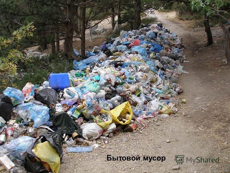 Бытовой мусор