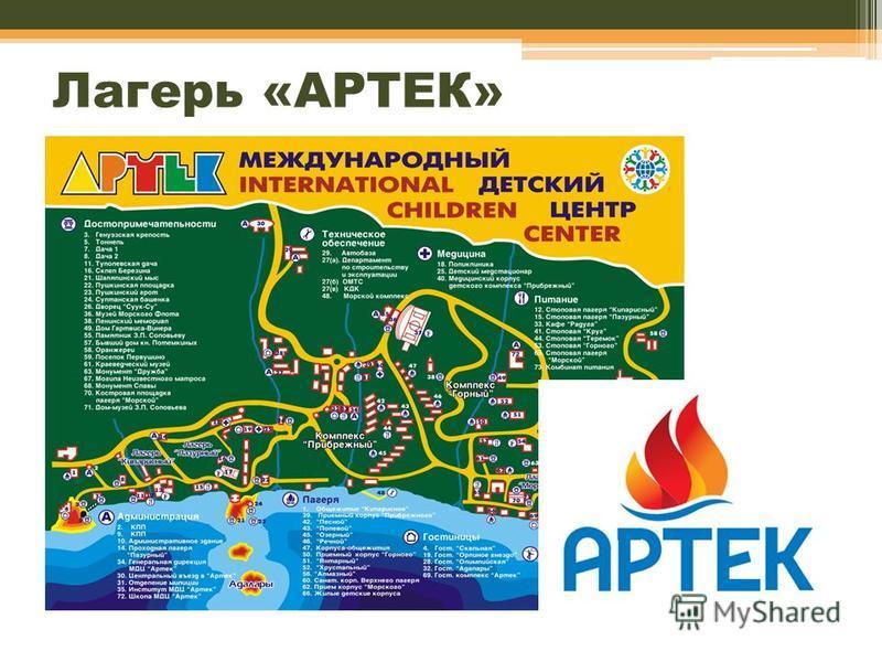 Лагерь «АРТЕК»