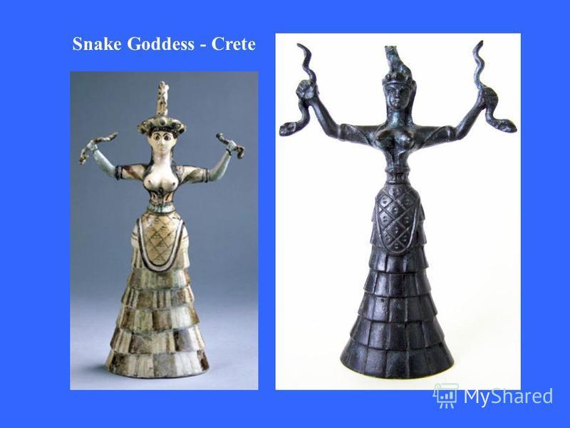 Snake Goddess - Crete