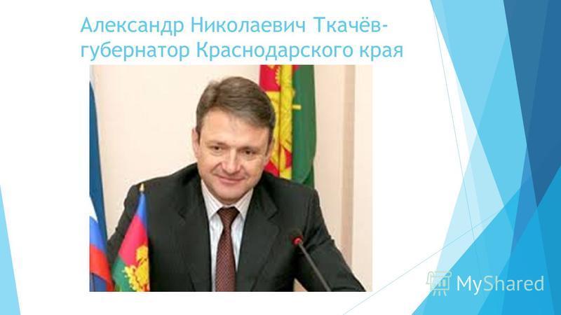 Александр Николаевич Ткачёв- губернатор Краснодарского края