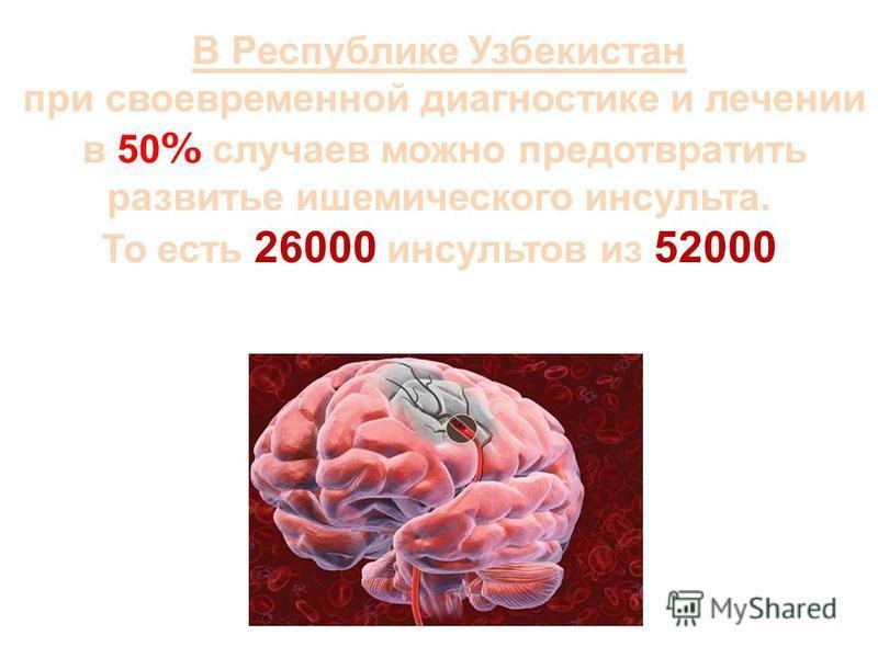 Причины ишемического инсульта атеротромботический – 34% кардиоэмболический – 26%; гемодинамическиййййй – 15% лакунарный – 25% 49 % (З.А. Суслина, 2005, Институт неврологии РАМН)