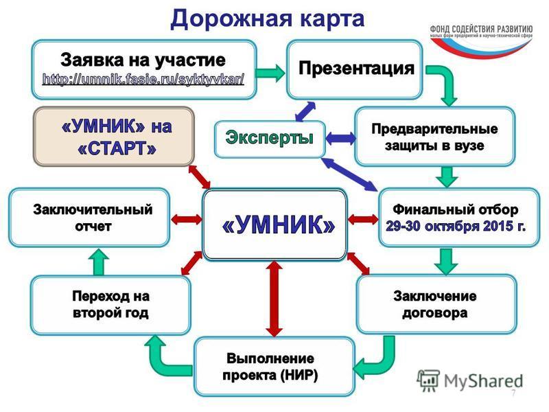 7 Дорожная карта
