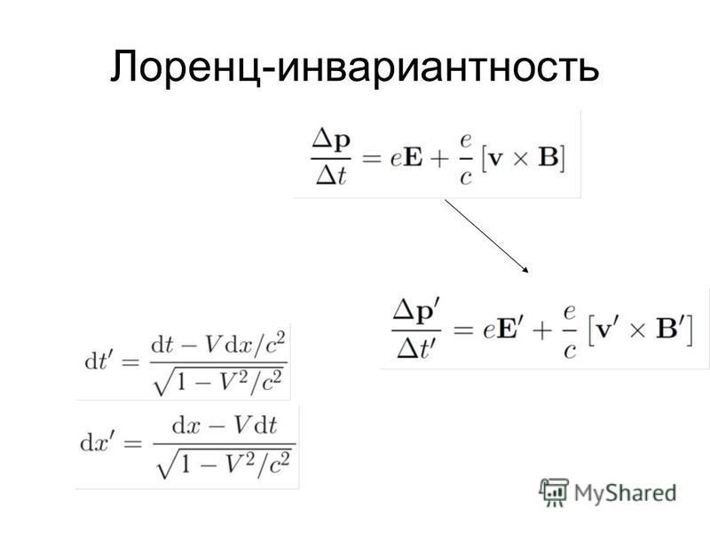 Лоренц-инвариантность