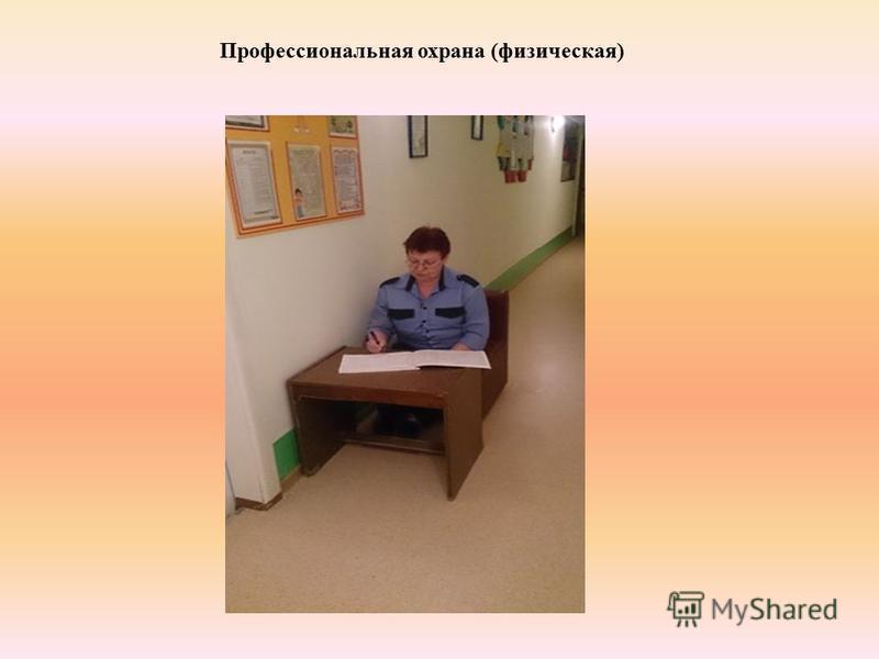 Профессиональная охрана (физическая)