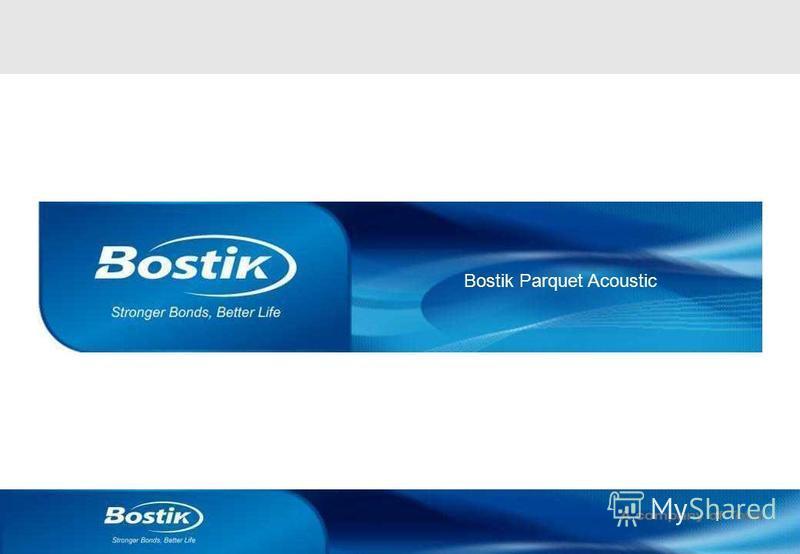 1 Bostik Parquet Acoustic