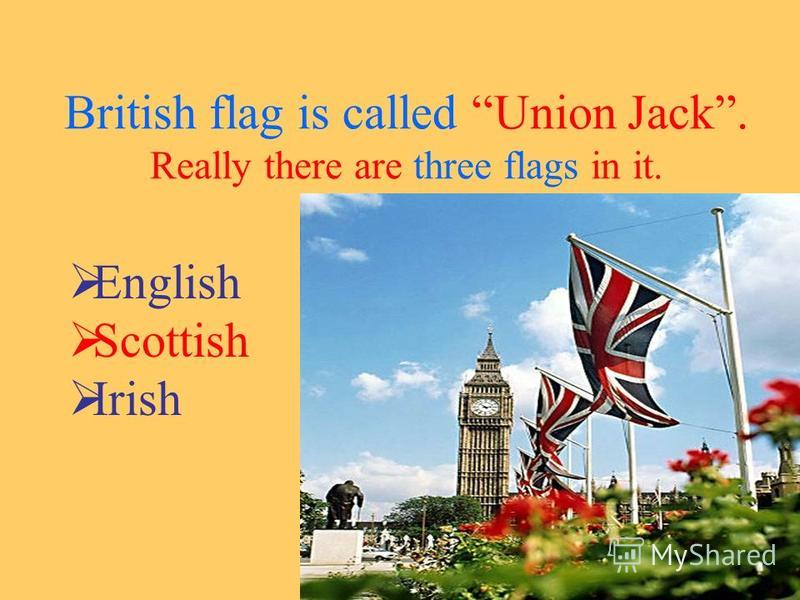 Finally when we put one Flag to another we will have Union Jack.