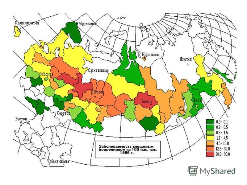 статистика инцефалита в подмосковье