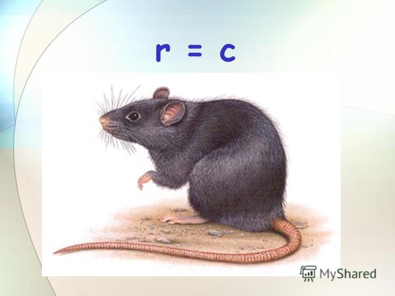 r = c