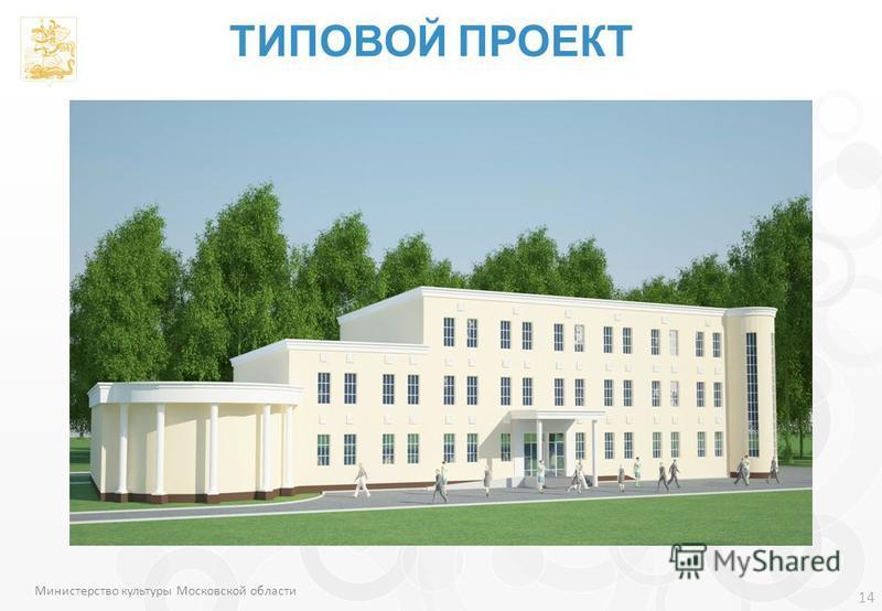 14 Министерство культуры Московской области ТИПОВОЙ ПРОЕКТ