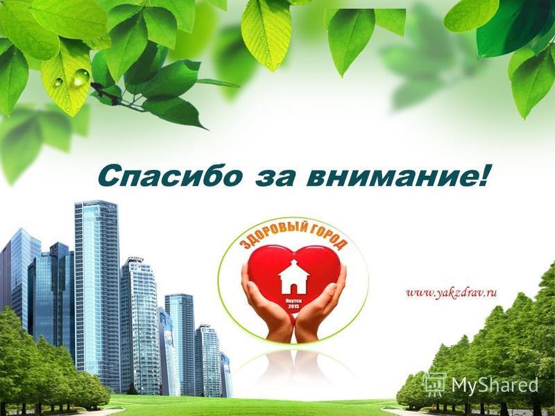 Спасибо за внимание! www.yakzdrav.ru