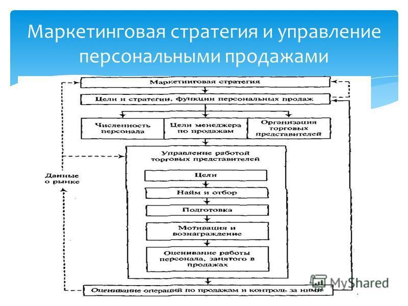 Маркетинговая стратегия и управление персональными продажами