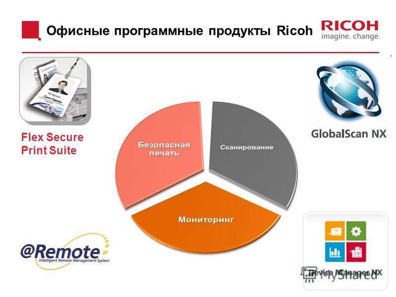 Офисные программные продукты Ricoh Flex Secure Print Suite