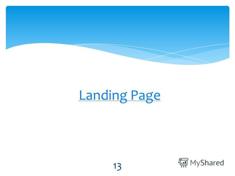 Landing Page 13