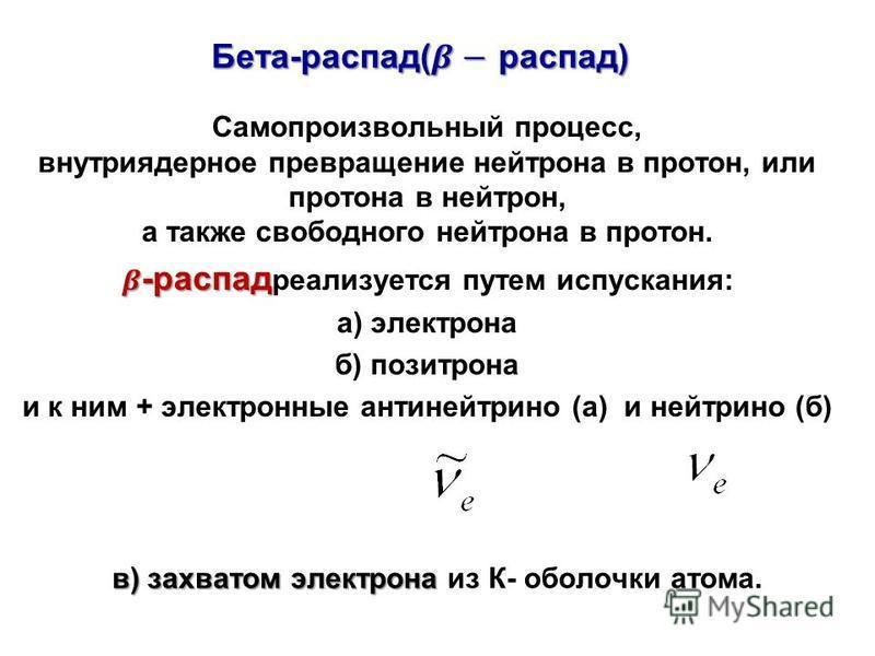 в) захватом электрона в) захватом электрона из К- оболочки атома.