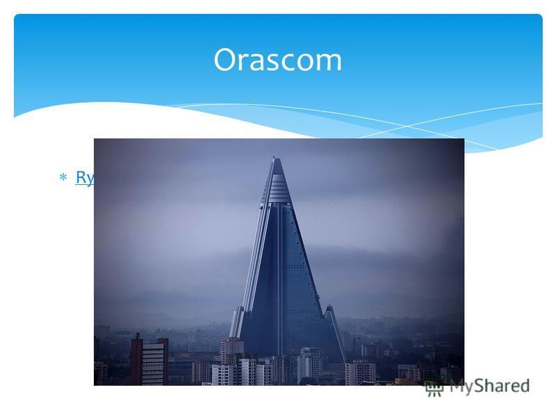 Ryugyong Hotel Orascom