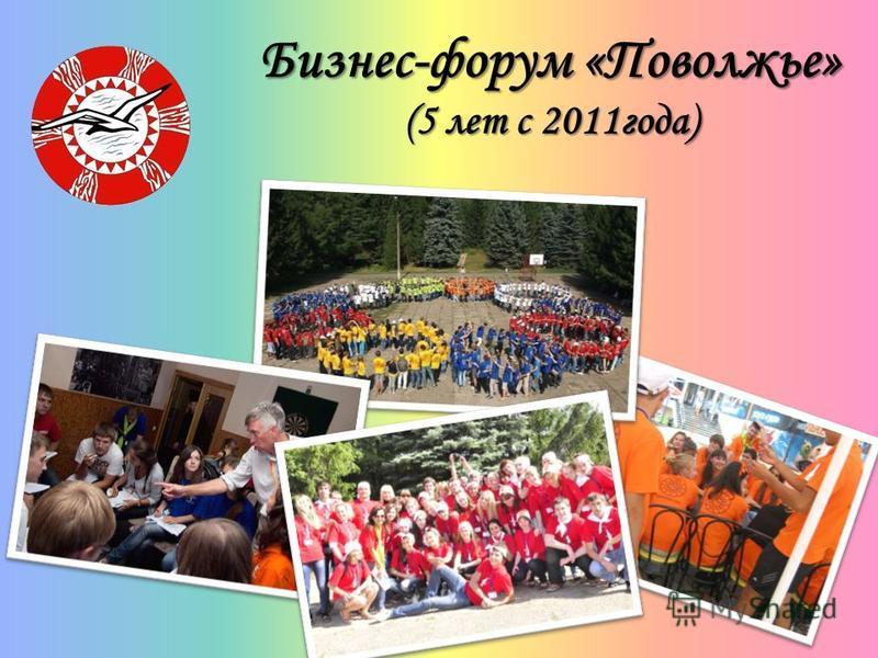 Бизнес-форум «Поволжье» (5 лет с 2011 года)