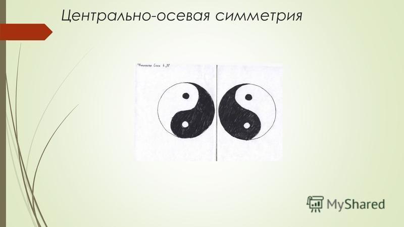 Центрально-осевая симметрия